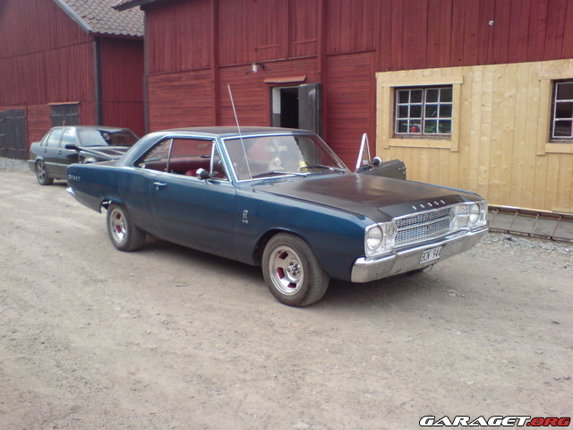 dodge dart gt 1968 garaget. Black Bedroom Furniture Sets. Home Design Ideas
