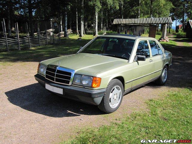 Mercedes w201 190d 2 5 1985 garaget for Garage mercedes lille