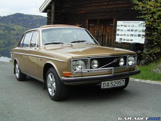 Volvo 144 GT (1972) Garaget