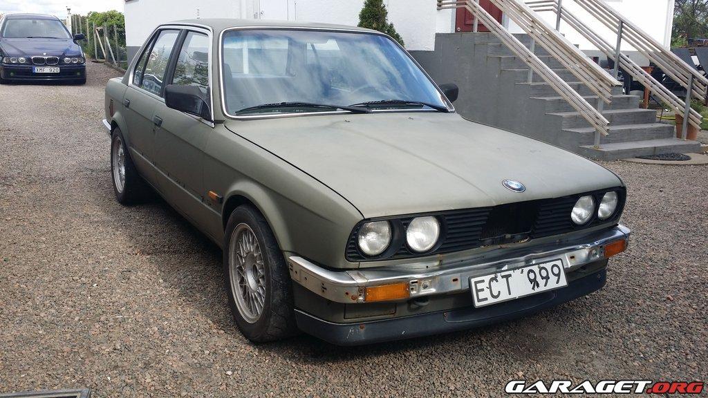 Bmw e30 320i 1986 garaget for Garage specialiste bmw 77