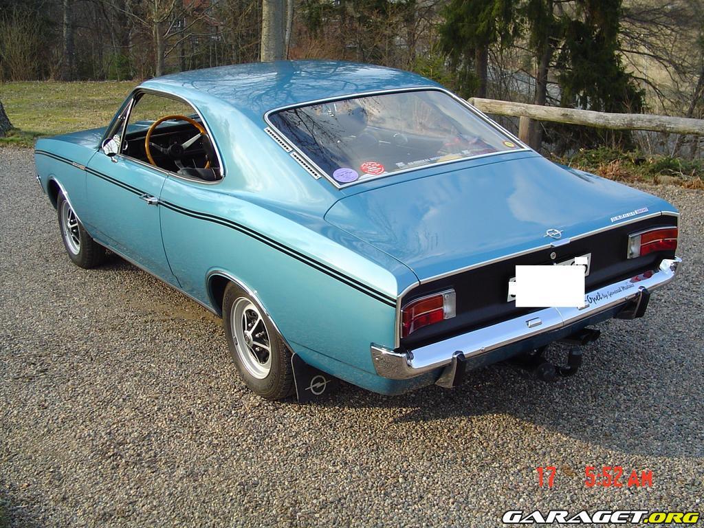 Opel Rekord Sprint Coupe 1969 Garaget