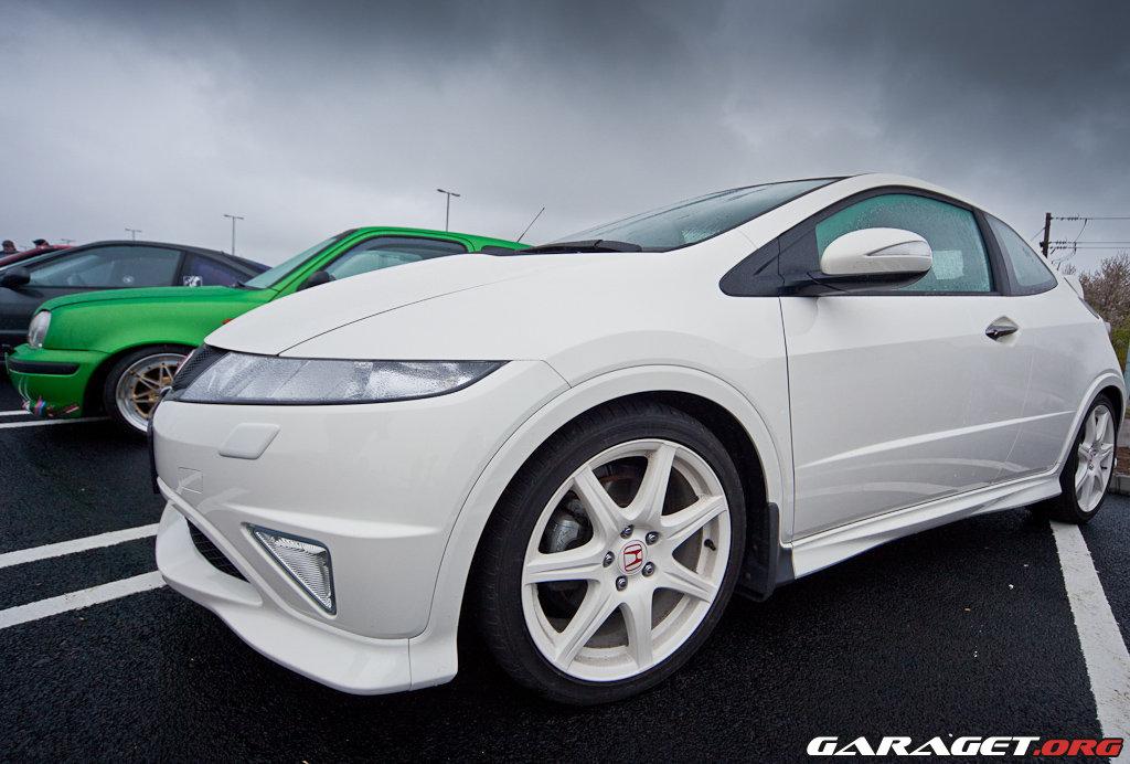 Min Civic Type R Championship White