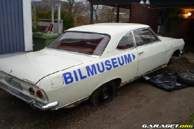 opel rekord coupe 1700 1966 garaget