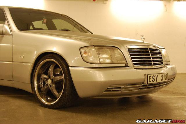 Mercedes 500se w140 1992 garaget for Garage mercedes auxerre 89