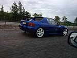 Honda crx delsol VTI goes Turbo