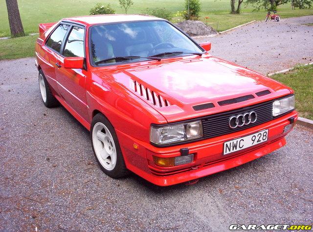 Audi urquattro 1983 garaget for Garage audi 92 nanterre