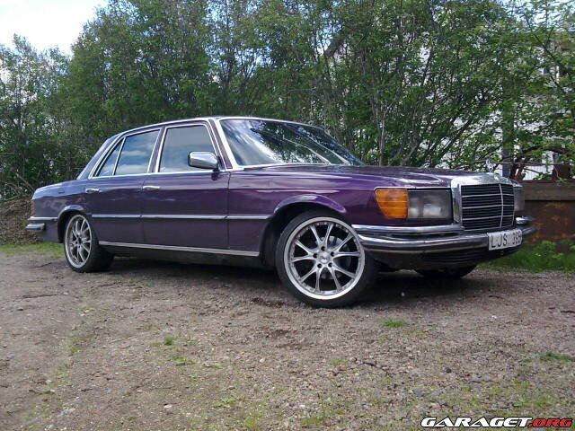 Mercedes w116 300d 1973 garaget for Garage mercedes 94