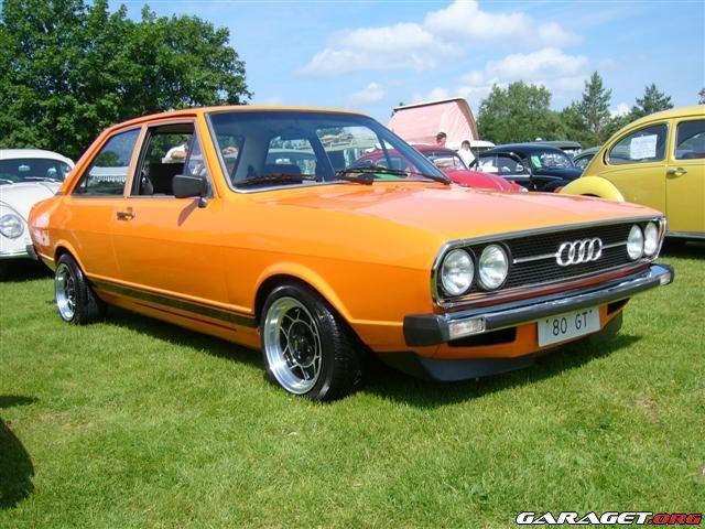 Audi 80 Gt 1975 Garaget