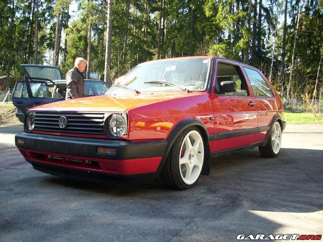 Volkswagen golf 2 16v turbo 1990 garaget for Garage volkswagen 95