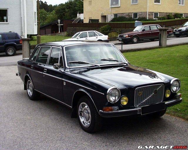 Garaget Volvo 164e 1973