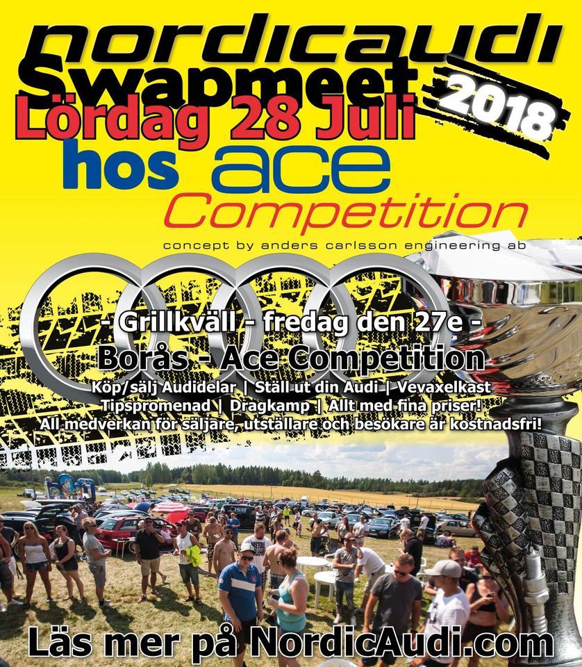 Nordicaudi Swapmeet 2018 At Ace Competition I Borås Garaget