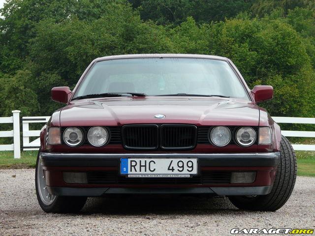 Bmw 730i e32 93 mer bilder n text garaget for Garage bmw bondy 93