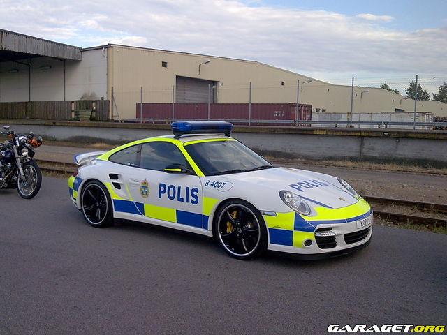 Har Polisen Skaffat Porsche Gt3 Som Polisbil Bilder