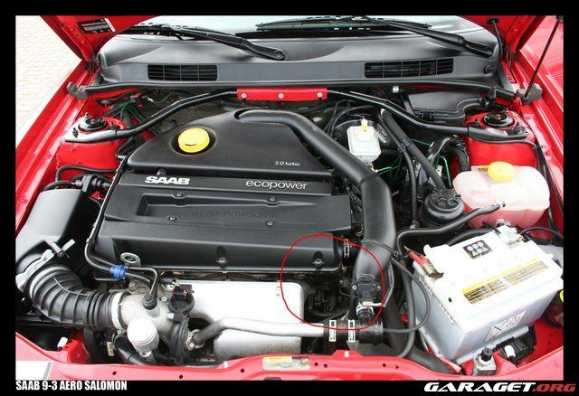 Saab 9 3 aero 02 l cker olja garaget for Garage audi 93 livry gargan