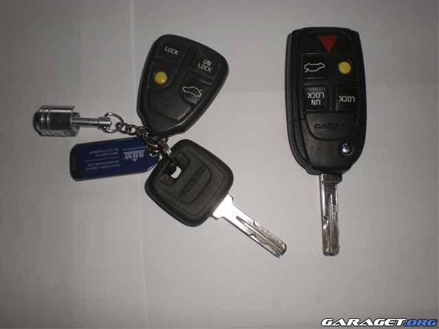 Göra ny nyckel