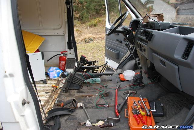 Klums Ford Transit Camping Partybuss Garaget