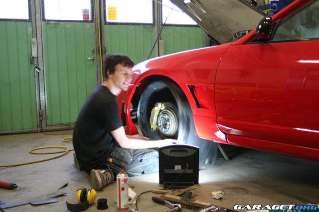 Erick nissan skyline r33 gts 25tm 95 inriktning for Garage toyota dax