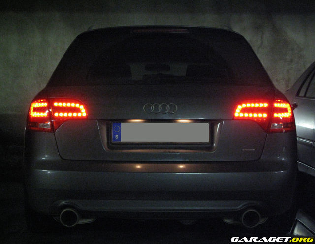A6 Tail Leds For My Avant