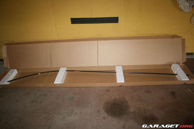 Rails På V70n Garaget