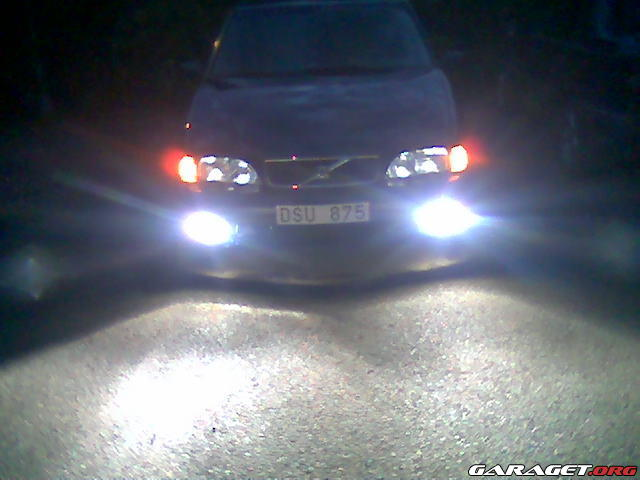 Dubbla Parkeringsljus Volvo S70 Garaget