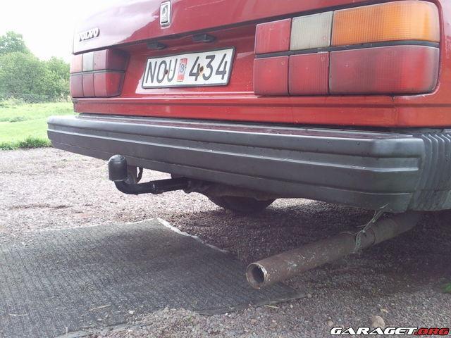 sätta dragkrok på bilen