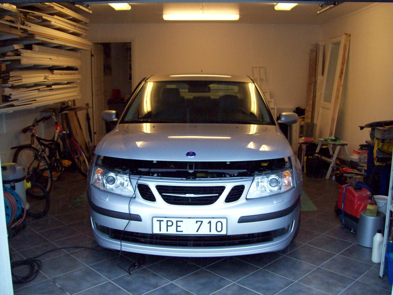 Klinker/plattor i garage med tanke på stenar och dubb? | Garaget