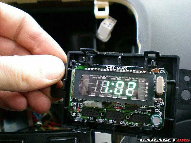 For sale: Digital JDM orange original Honda clock (Honda Civic -96) | ClubCivic.com - Honda ...
