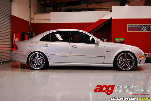 Mercedes clk 55 amg breddad garaget for Garage mercedes 93 bondy