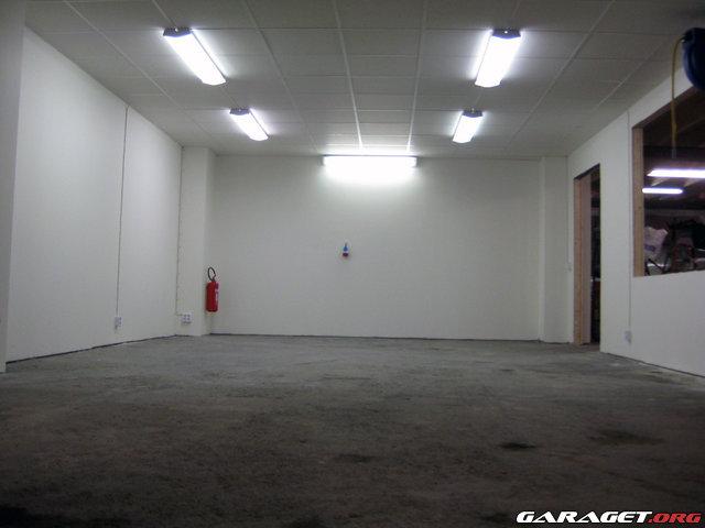 Billigt innertak garage