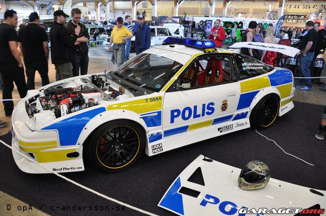 """Civila polisbilar och """"traffipax"""" • Sveriges Volvoforum"""