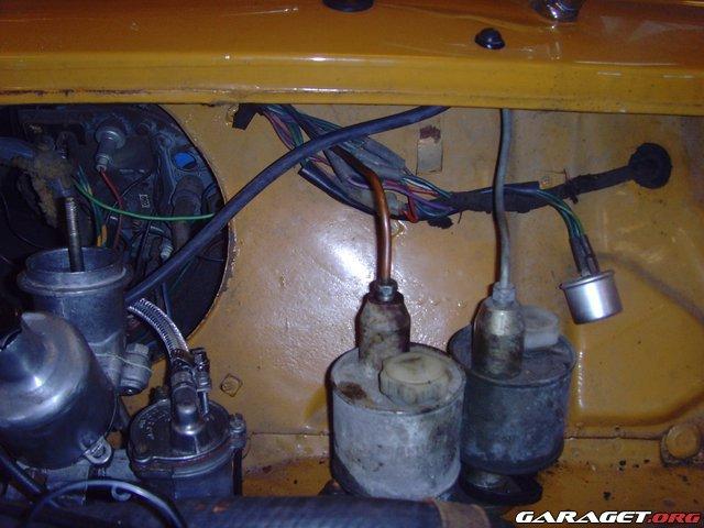 Luft i bromssystem bil