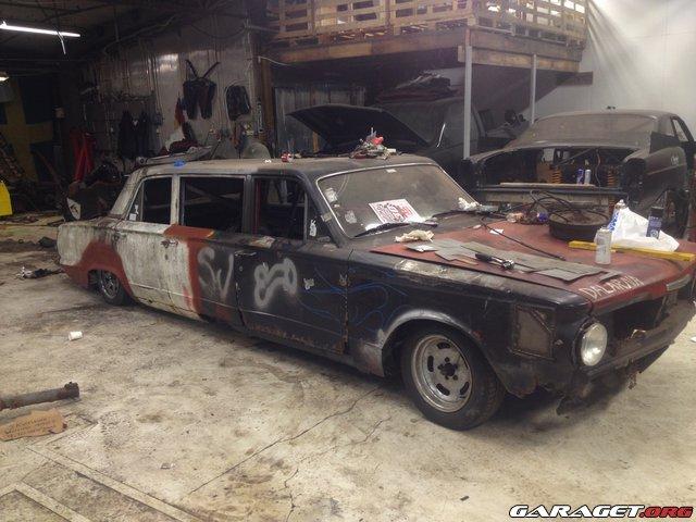 Plymouth valiant-65 limousin bygge v8 turbo | Garaget