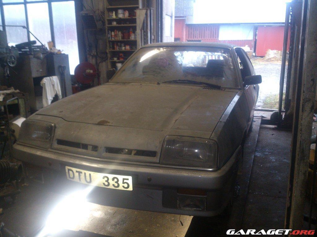Opel manta b cc turbo vad h nder i garagen s var turbo for Garage opel 77 pontault combault