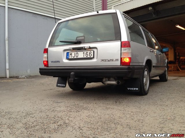 Volvo 740 gle helrenovering originalprojekt 1986 usa for Garage toyota dax