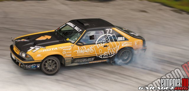 Team Pony Drift Ford Mustang Gt Nissan Driftworks