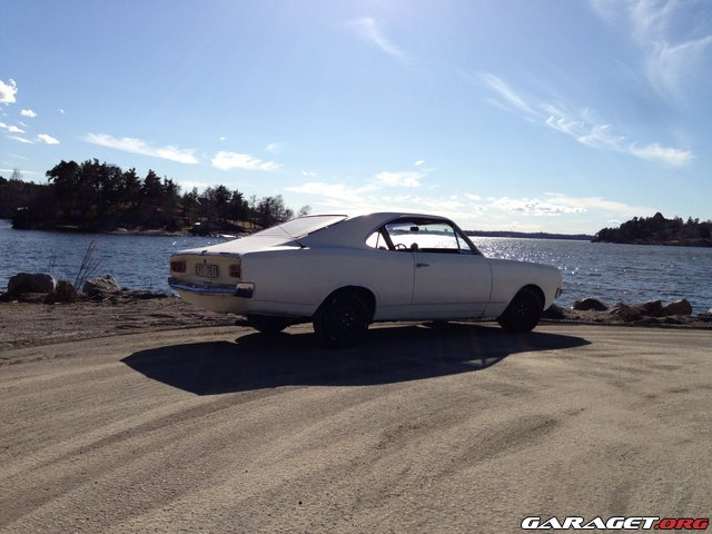 Opel rekord coup 68 tyskj nken garaget for Garage opel gard