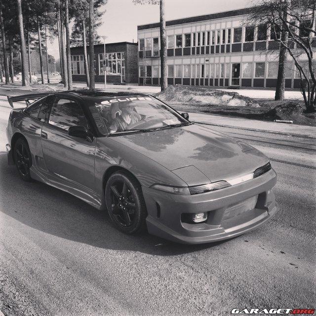 Mitsubishi eclipse styling bygge garaget for Garage mitsubishi 95