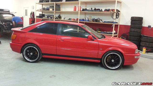 Audi s2 91 motorbygge och uppfr schning garaget for Garage audi 91 viry chatillon