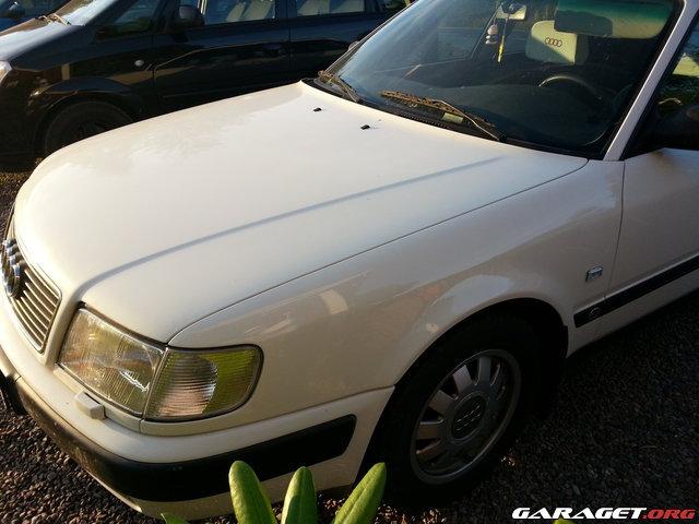 Audi 100 c4 avant 93 l ngtidsprojekt uppdatering for Garage audi 91 viry chatillon