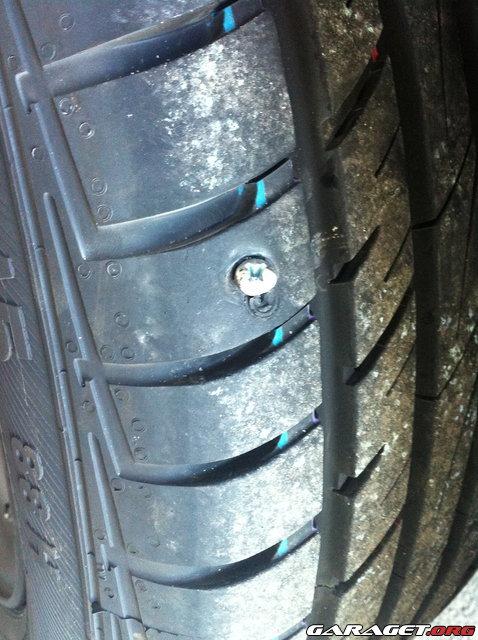 Laga punktering bildäck kostnad