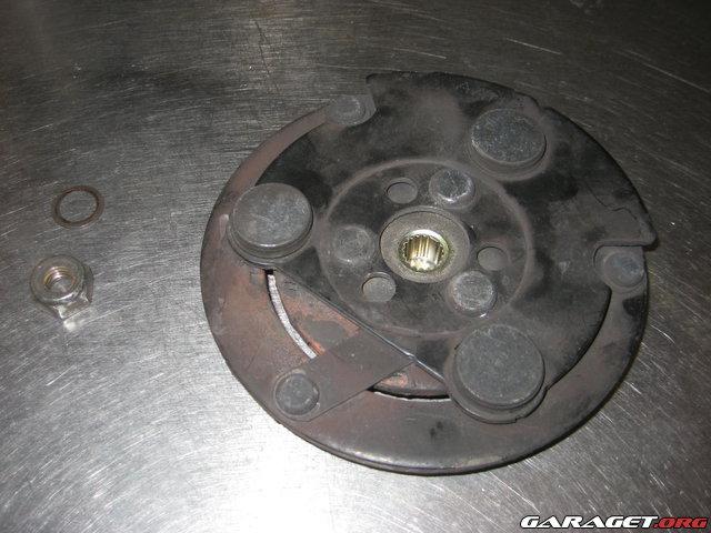Byta Lager Ac Kompressor Saab 9 3