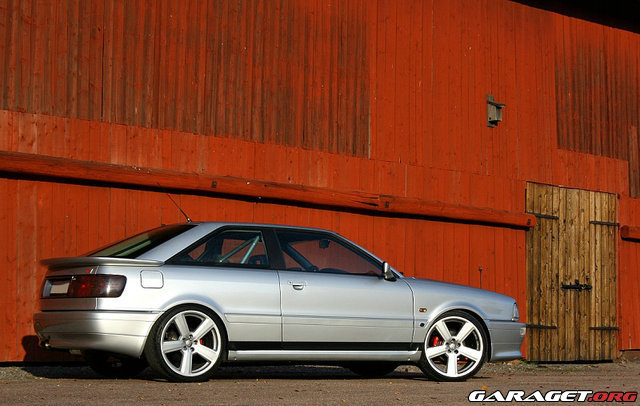 Audi s2 coup quattro 91 564whp 699wnm vad h nder for Garage audi 91 viry chatillon