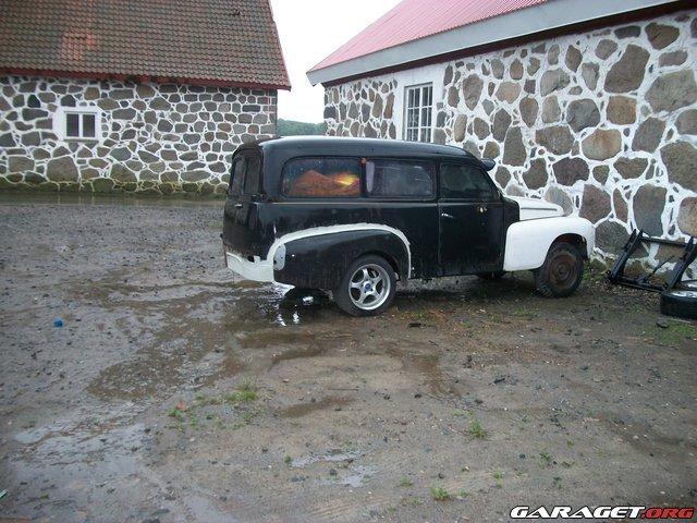 Garaget Volvo Duett Custom