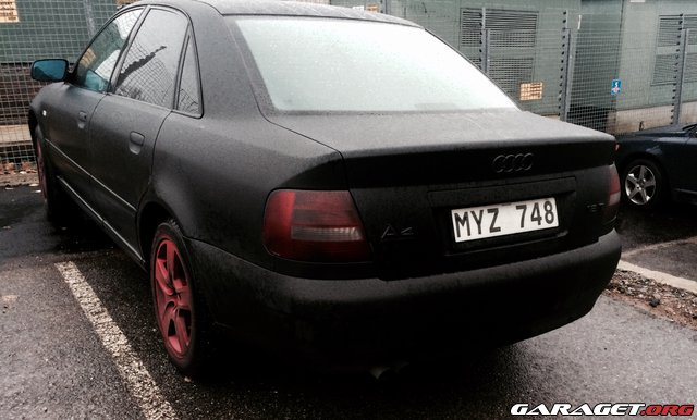 Audi a4 b5 99 solfilm plastidip foliering med mera for Garage audi 91 viry chatillon