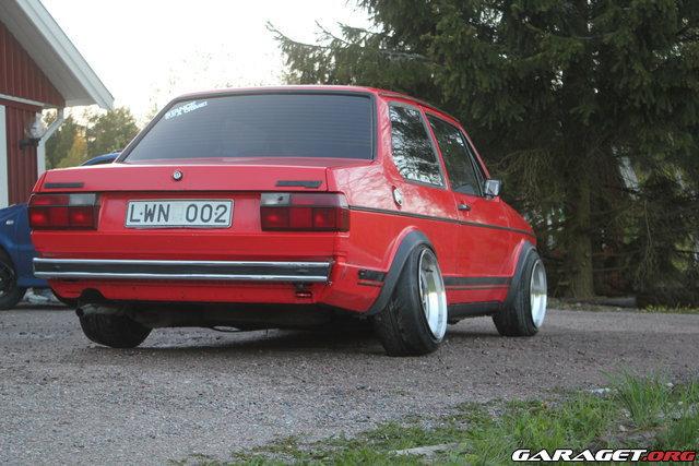 Jetta mk1 uppfr schning stance garaget for Garage volkswagen 95