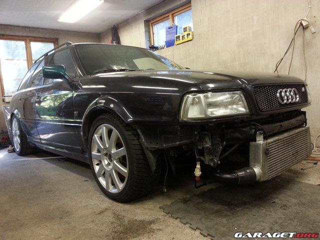 Audi s2 avant 93 500hk busbil retrunt garaget for Garage audi 92 nanterre