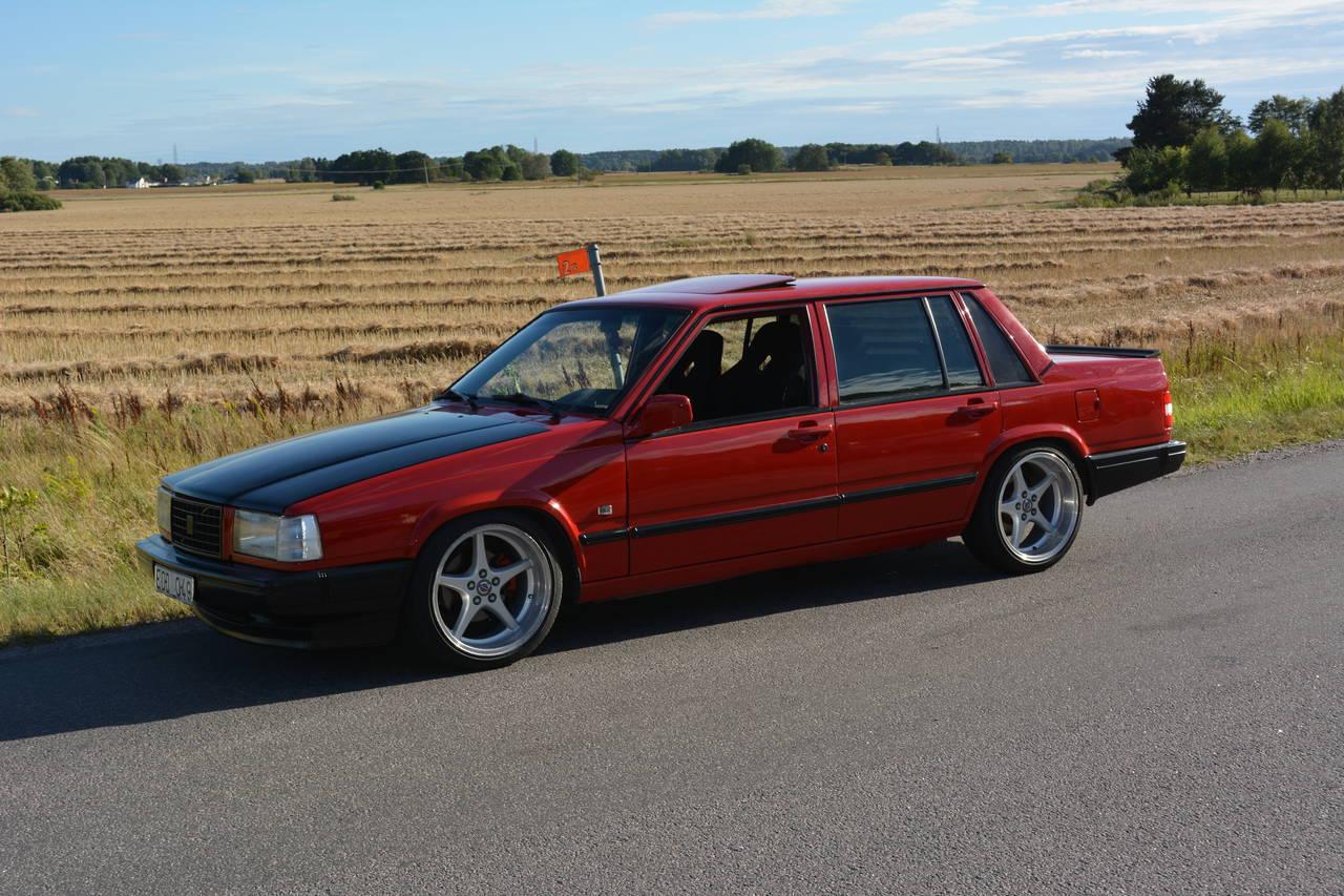 Volvo 740 Glt Driftbils Projekt Garaget