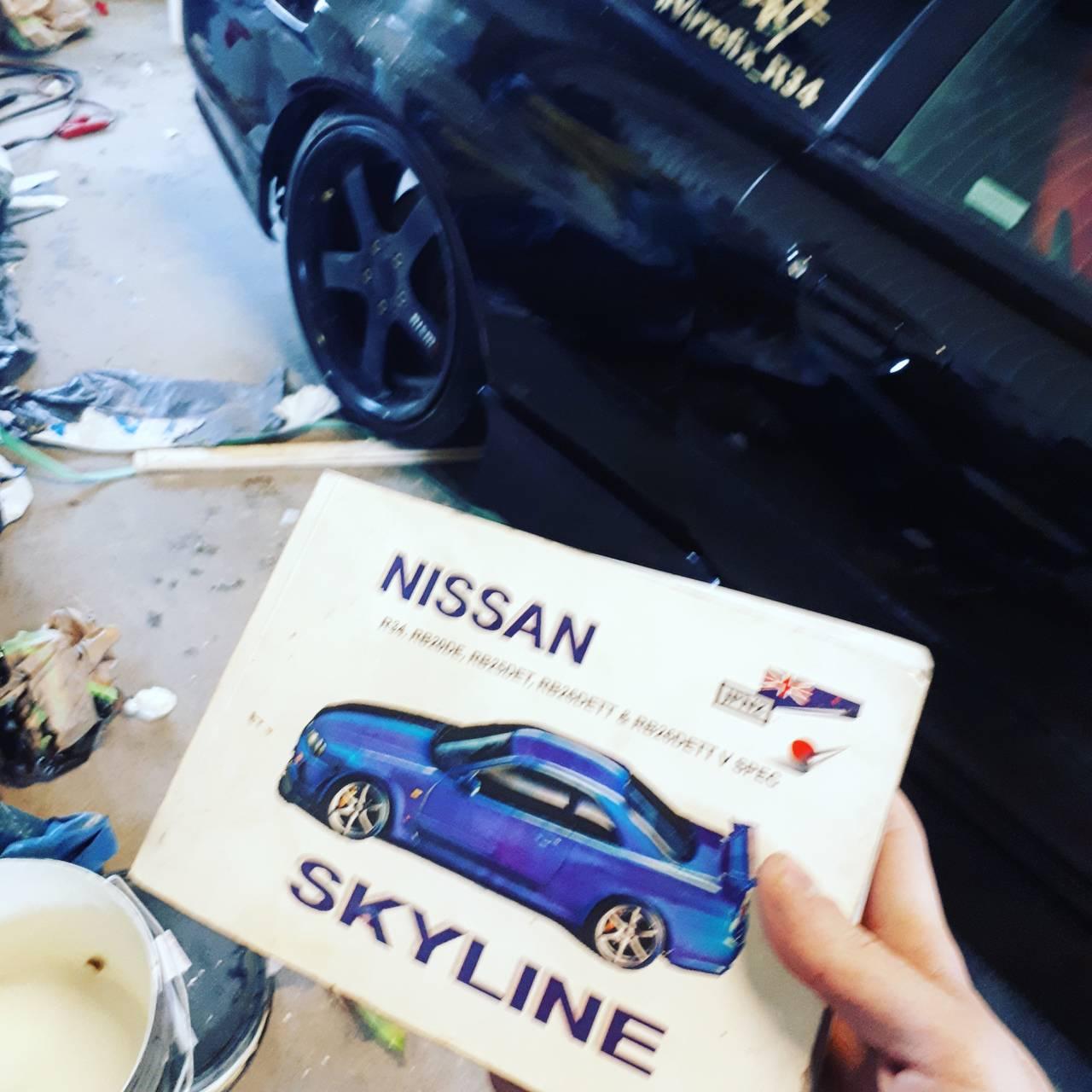 Toyota Supra For Sale In Pa: R34 Skyline Dröm Bygget