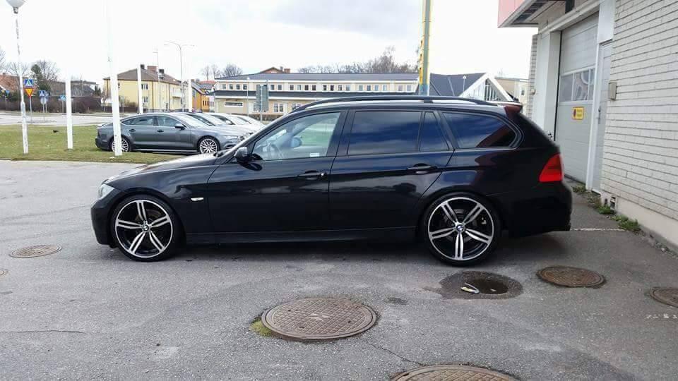 BMW E91 M104 Turbo   Garaget