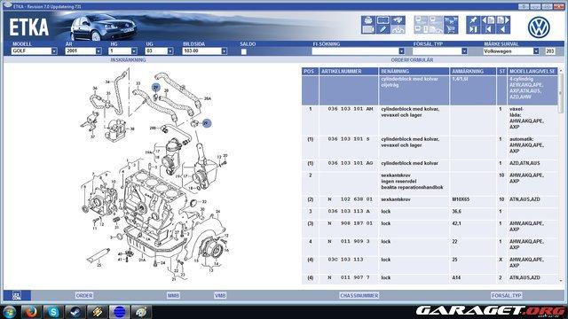 Garaget vevhusventilation vw 1 4 16v spr ngskiss for Garage audi 93